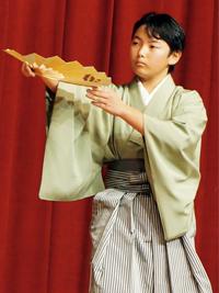 ●日本舞踊「西川流」名取 関口 和真さん