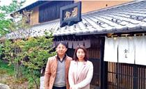 観光列車「ろくもん2号」の食事提供店「小布施 鈴花」にて