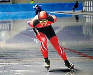 原さんの強みは「抜群の持久力」とスケート班顧問の市川先生は言います