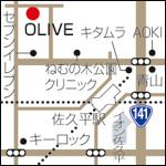 OLIVEの地図