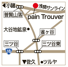 pain Trouverの地図