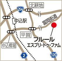 フルールの地図