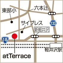 atTerraceの地図