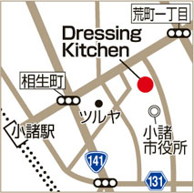 Dressing Kitchenの地図