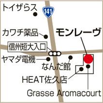 selectshop Mon rèveの地図