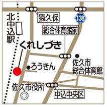 くれしづきの地図